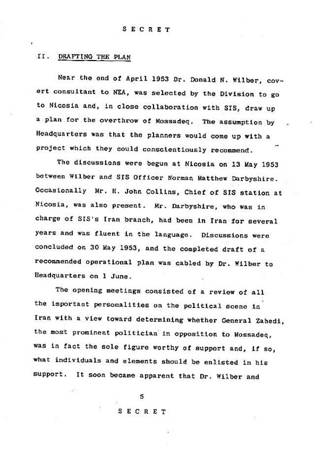 Operation Ajax Declassified PDF 2 of 9