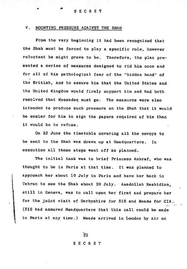 Operation Ajax Declassified PDF 5 of 9