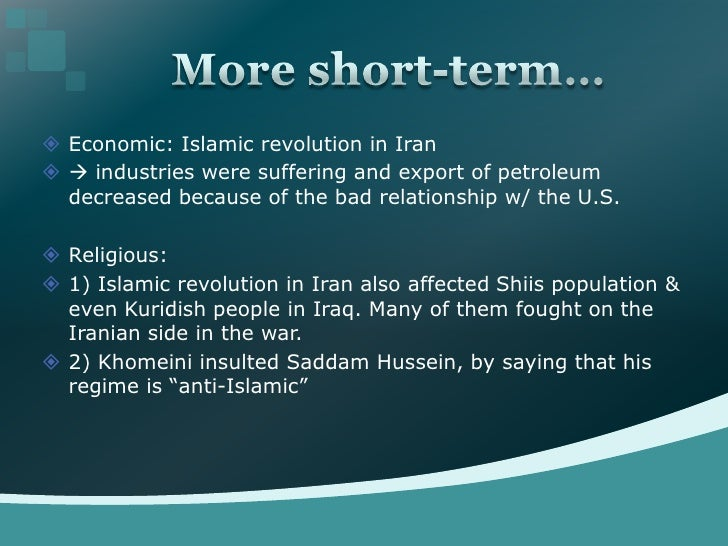 causes and effects of the iranian revolution