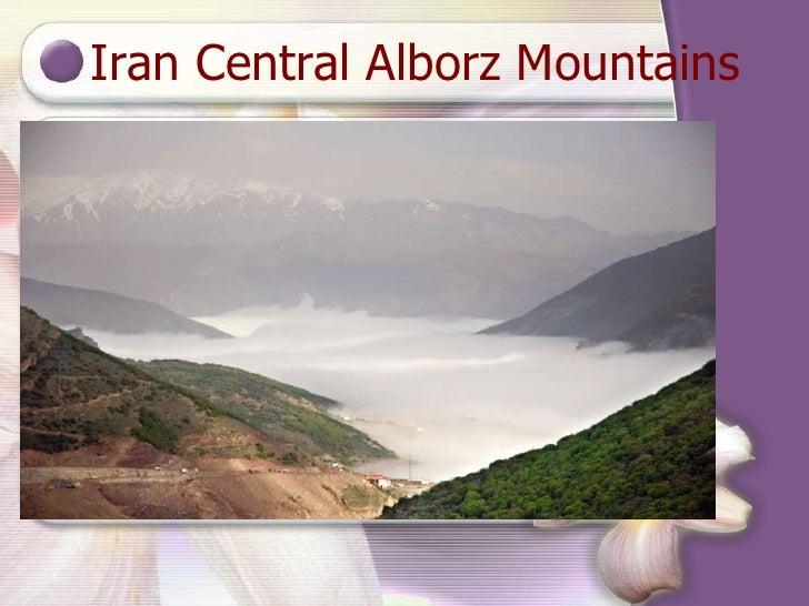 Iran Central Alborz Mountains
