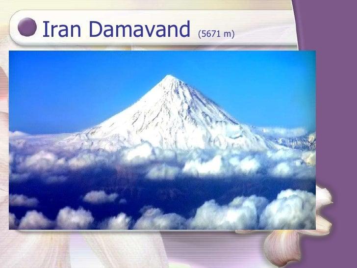 Iran Damavand   (5671 m)