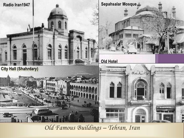 Moghberodouleh Square                                                        Saadi St. / 1951          Old Sarband-1961   ...