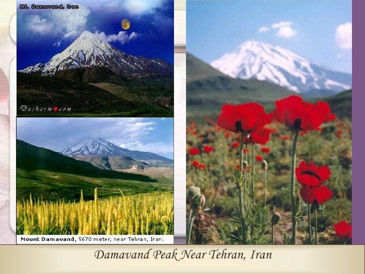 Biggest Clock in the World                    Modern Tehran Monuments–Iran