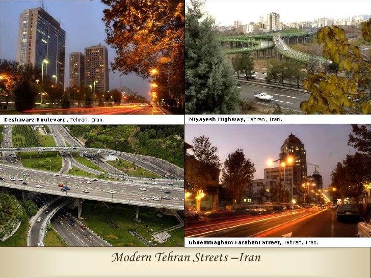 Vanak Square, Tehran, Iran.                                   Modern Tehran –Iran
