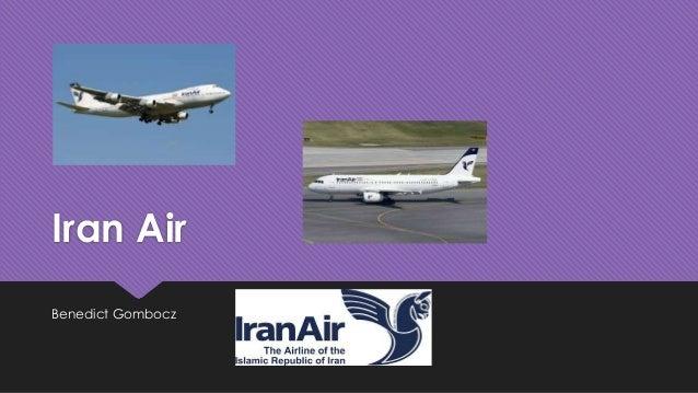 Iran Air Benedict Gombocz