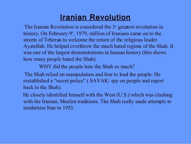 iran revolution timeline