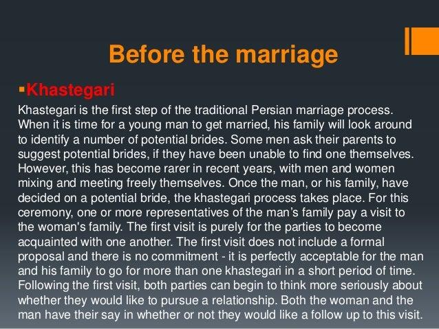 Khastegari marriage
