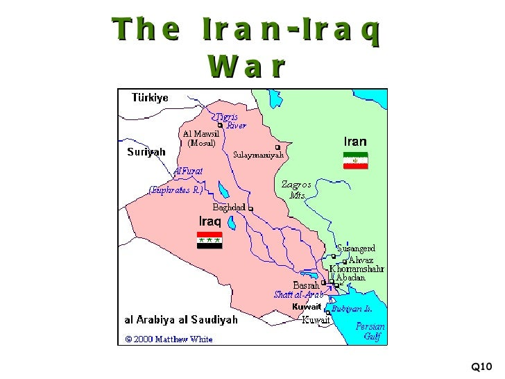 the iran iraq war 1980 1988 q10