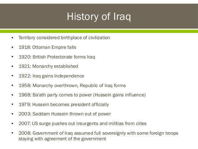 CIA activities in Iraq