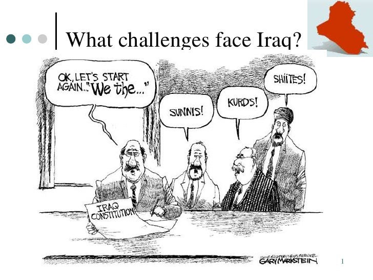What challenges face Iraq?     Iraq: Past, Present, & Future       1