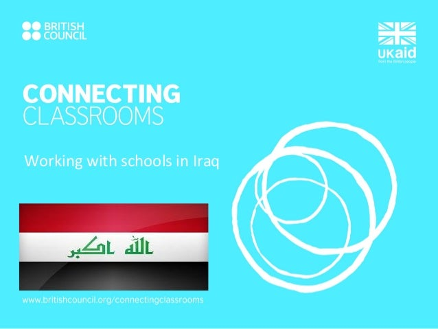 Working with schools in Iraq