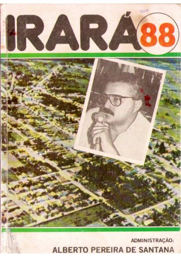 IRARÁ 88 - PREFEITURA MUNICIPAL DE IRARÁ