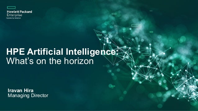 HPE Artificial Intelligence: 