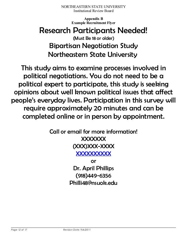 research study examples