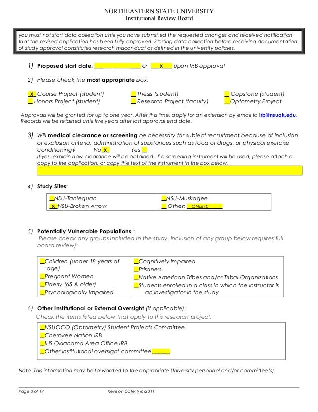 Irb – Irb Cover Letter Sample