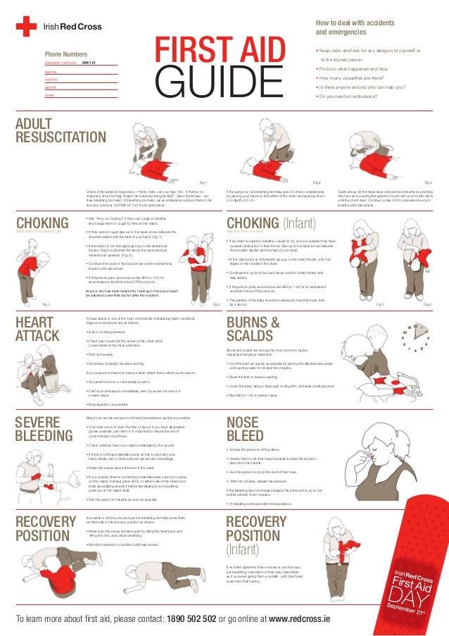 First Aid Training Irish Red Cross