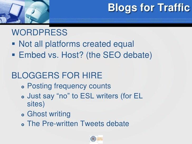 Leveraging Blogging for Online Retailers