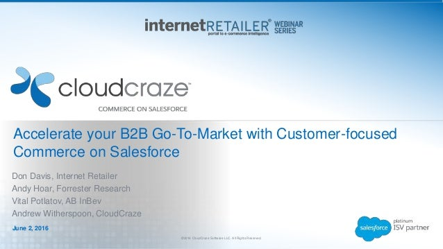 Accelerate Your B2B Go To Market with Customer-focused Commerce on Sa…