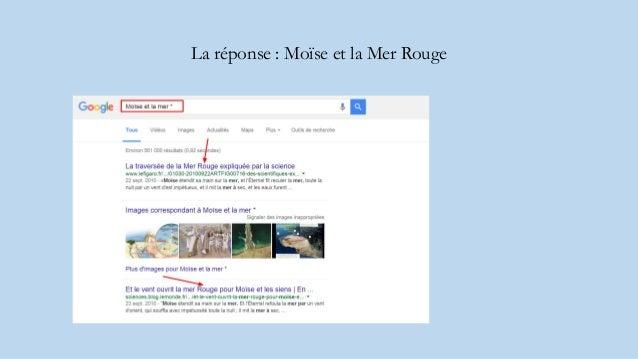 La réponse : Moïse et la Mer Rouge