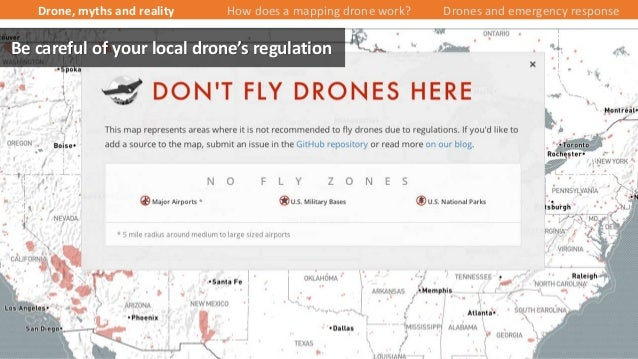 15/43 Be careful of your local drone's regulation Drone, myths and reality How does a mapping drone work? Drones and emerg...