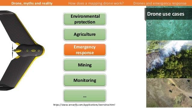 16/43 Agriculture Mining Monitoring Environmental protection Emergency response … https://www.sensefly.com/applications/ov...