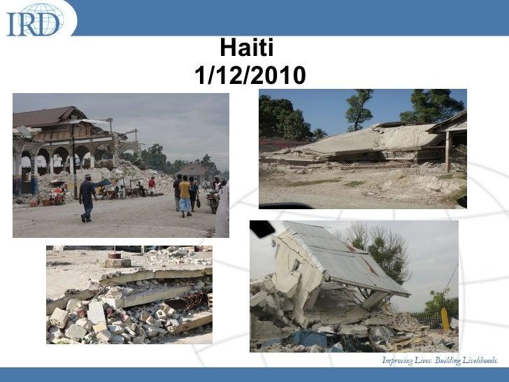 Haiti  1/12/2010