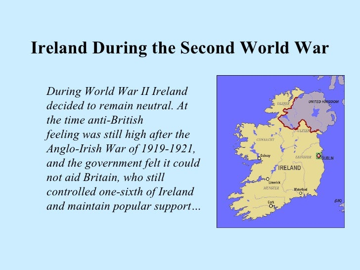 Ireland during WWII - in the 6 Hats style