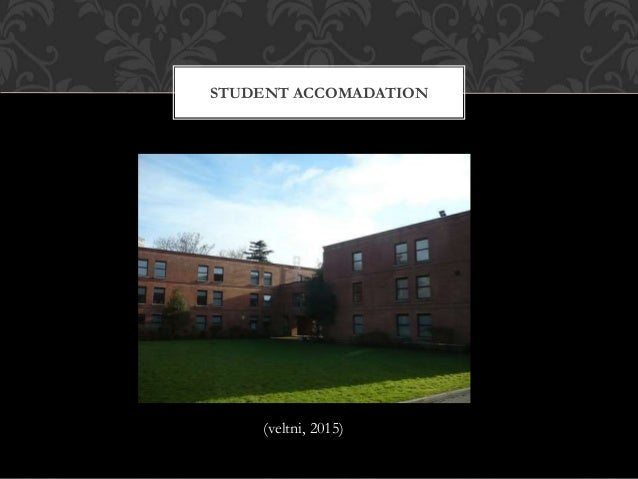 STUDENT ACCOMADATION (veltni, 2015)