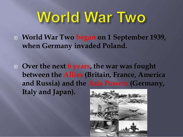 Ireland during wwii ppt