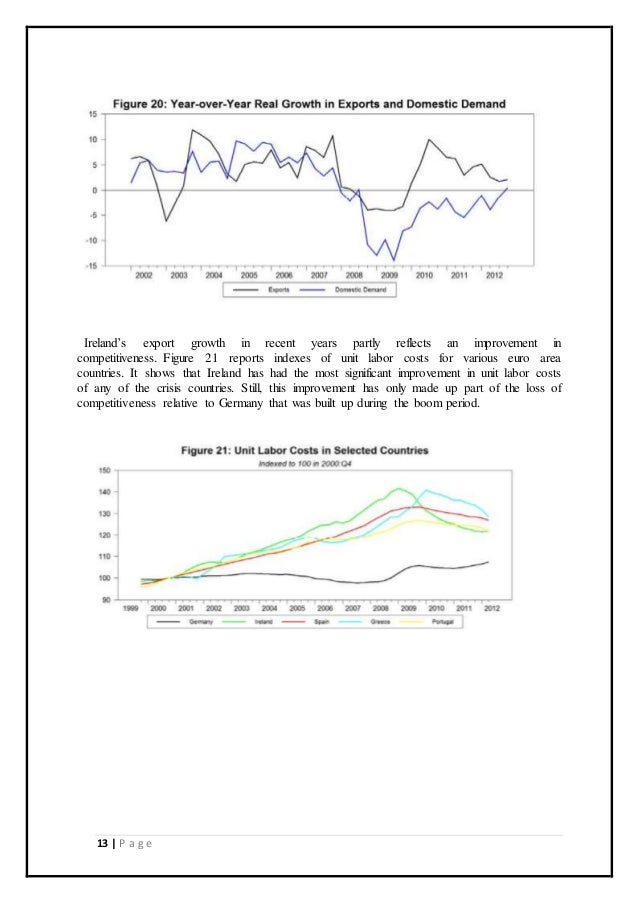 Irelands economic crisis