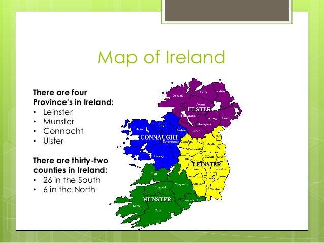 what is the latitude of ireland