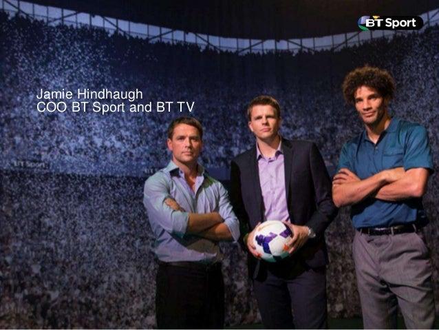 Jamie Hindhaugh COO BT Sport and BT TV