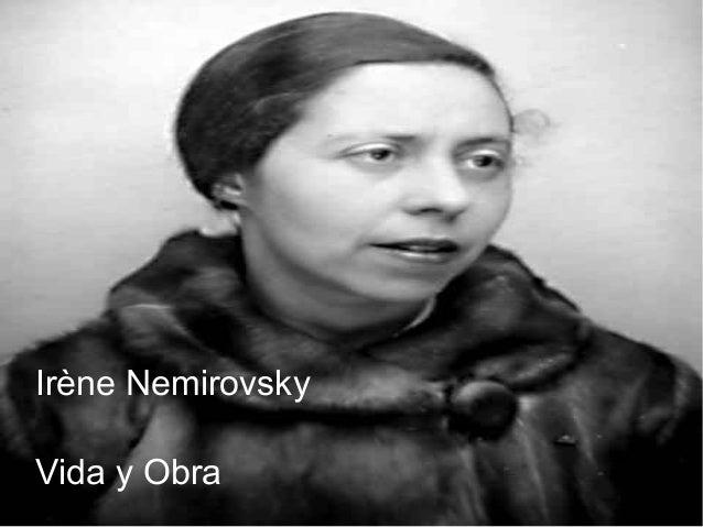 Irène Nemirovsky Vida y Obra