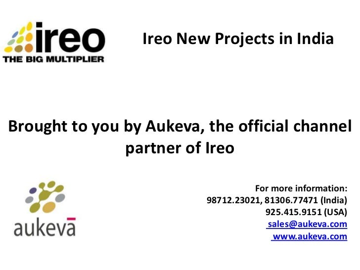 Ireo New Projects in IndiaBrought to you by Aukeva, the official channel               partner of Ireo                    ...