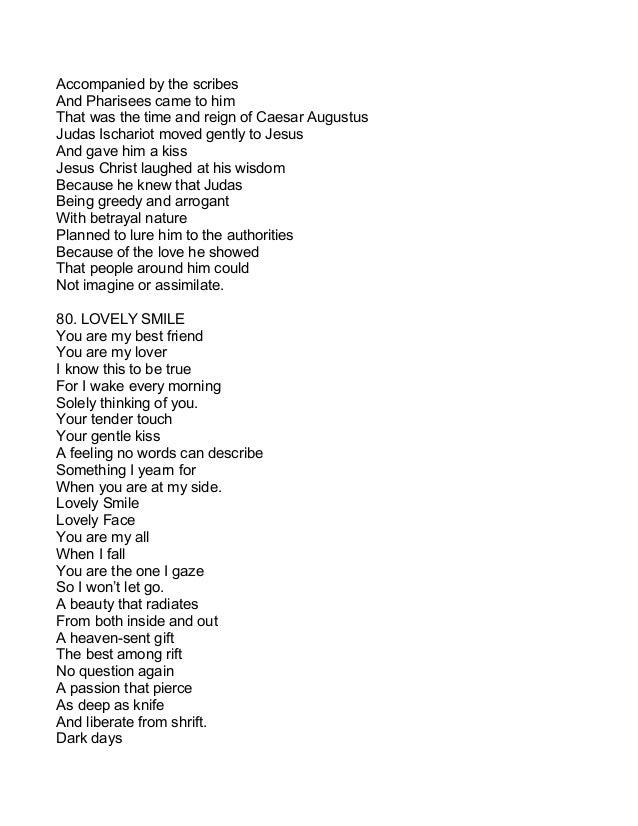 Irresistable poems
