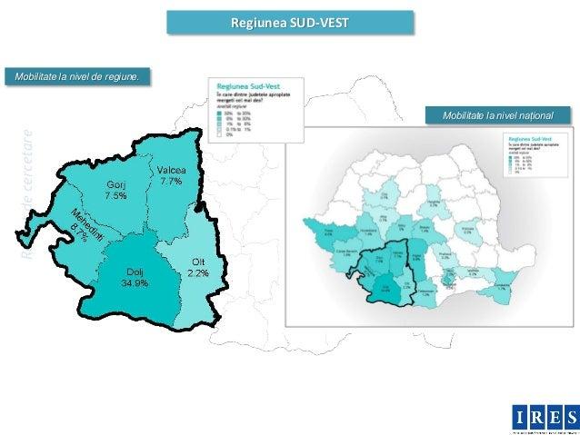 Regiunea SUD-VESTMobilitate la nivel de regiune.                                                      Mobilitate la nivel ...