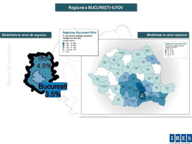 Regiunea BUCUREȘTI-ILFOVMobilitate la nivel de regiune.                              Mobilitate la nivel național  Raport ...