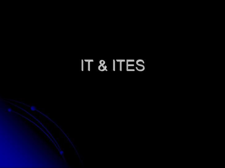 IT & ITES