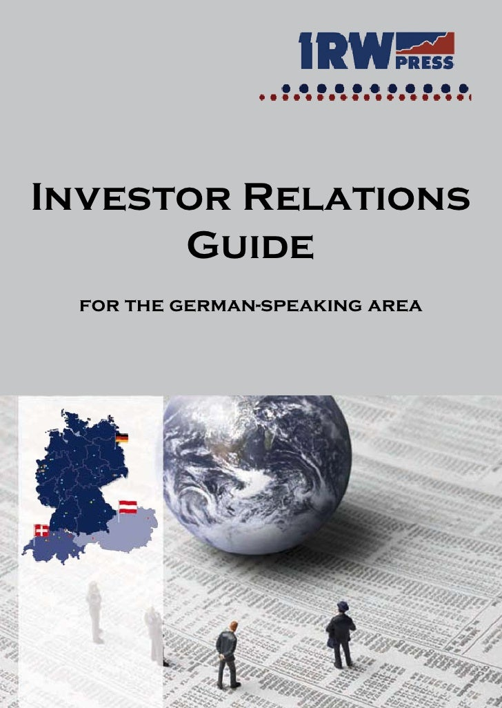 Investor Relations       Guide  for the german-speaking area