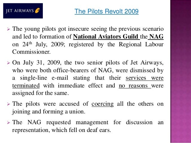 jet airways industrial dispute British airways & mixed fleet settle pay dispute by john ollila flights out of heathrow take 85 days of industrial action for taking industrial action by british airways conclusion this pay dispute should have been settled way earlier considering the number of strike.