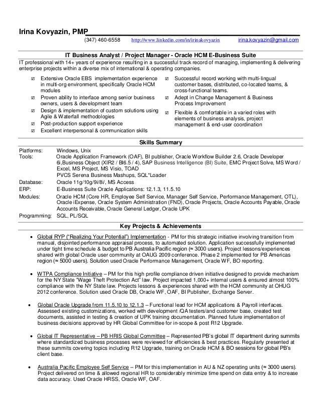 Hris Analyst Resume] Professional Hris Analyst Templates To