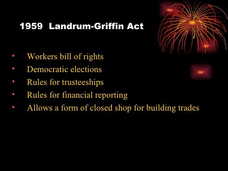 landrum griffin act