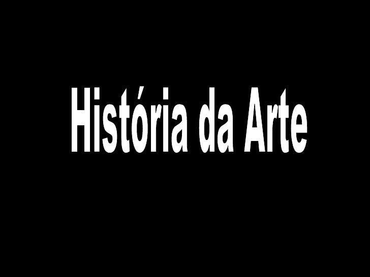 História da Arte