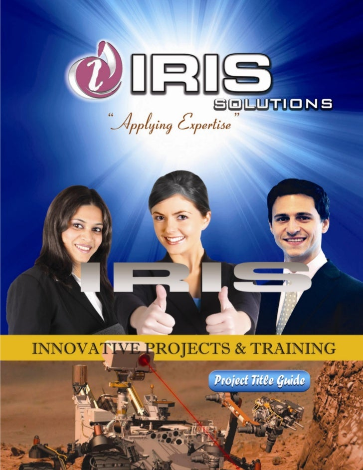Iris Solutions                    TABLE OF CONTENTSABOUT IRIS                                                             ...