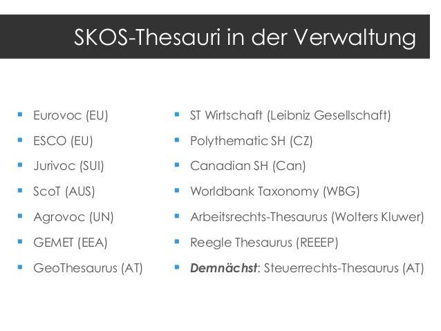 Simple Knowledge Organization System (SKOS)  Umsatzsteuer http://voc.org.com/core/77  altLabel  Mwst  --- -- ----- -- ----...