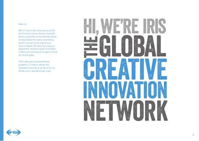 iris brand guidelines 2014 Slide 2
