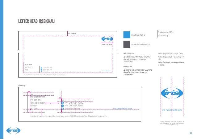 iris brand guidelines 2014 Slide 22