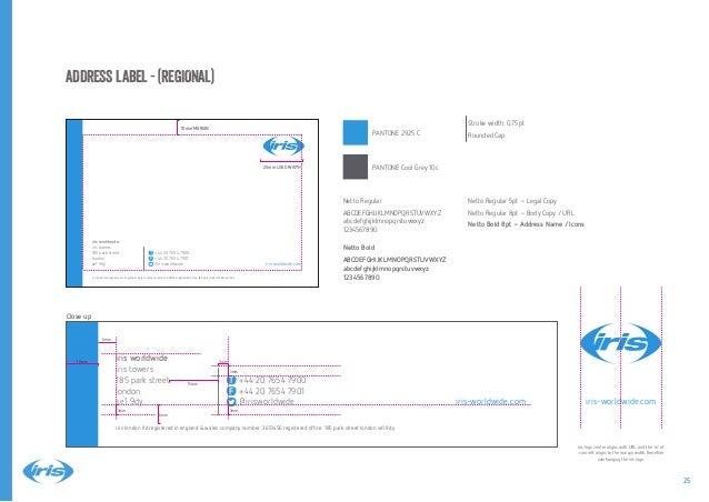iris brand guidelines 2014 Slide 25