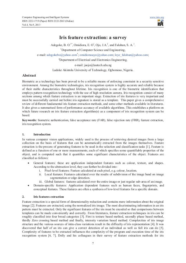 Computer Engineering and Intelligent Systems www.iiste.org ISSN 2222-1719 (Paper) ISSN 2222-2863 (Online) Vol.4, No.9, 201...