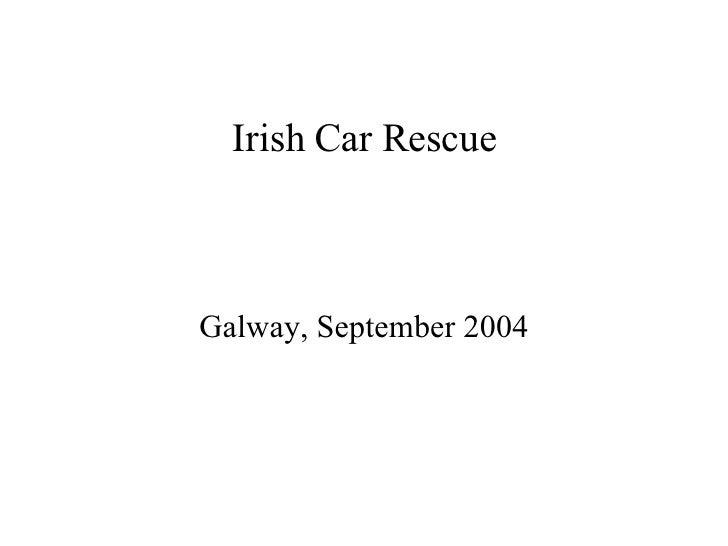 Irish Car Rescue Galway, September 2004